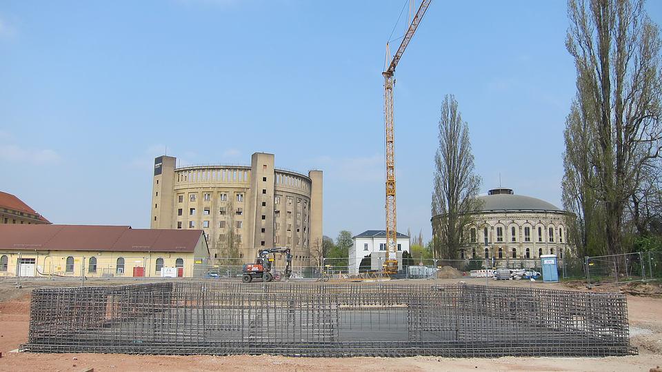 Neubau Betriebsgebäude mit Freiluftschaltanlage im Umspannwerk Dresden Reick