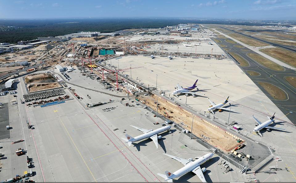 Fraport Ausbau Süd - Flughafen Frankfurt, Terminal 3